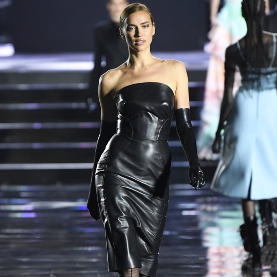 Irina Shayk in the CR Runway Luisaviaroma Show June 2019