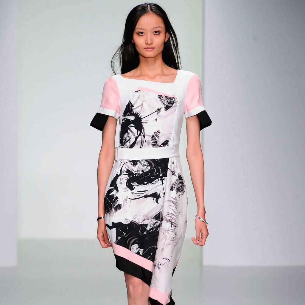 Jean-Pierre Braganza Spring 2014   London Fashion Week