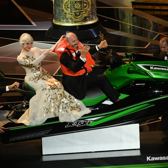 Who Won the Jet Ski at the Oscars 2018?