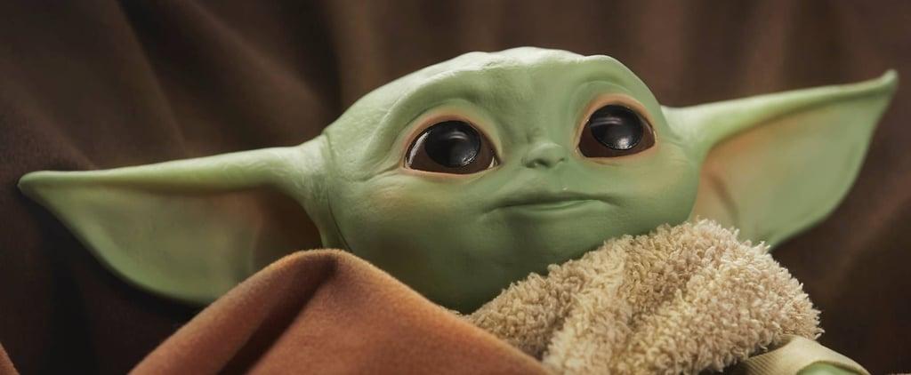 Hasbro The Child Baby Yoda Talking Plush   The Mandalorian