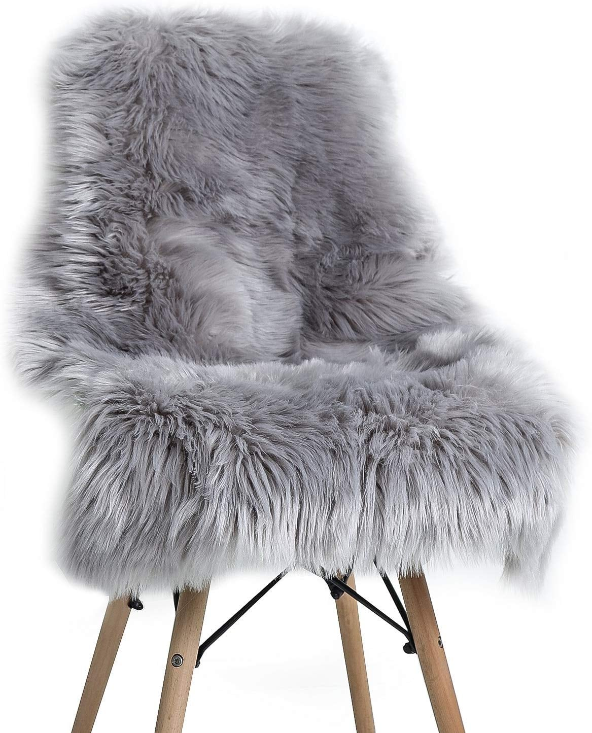 Yoh Soft Faux Sheepskin Chair Cover Seat Cushion The Best Pieces To Get That Scandanavian Home Decor Style Popsugar Home Photo 2