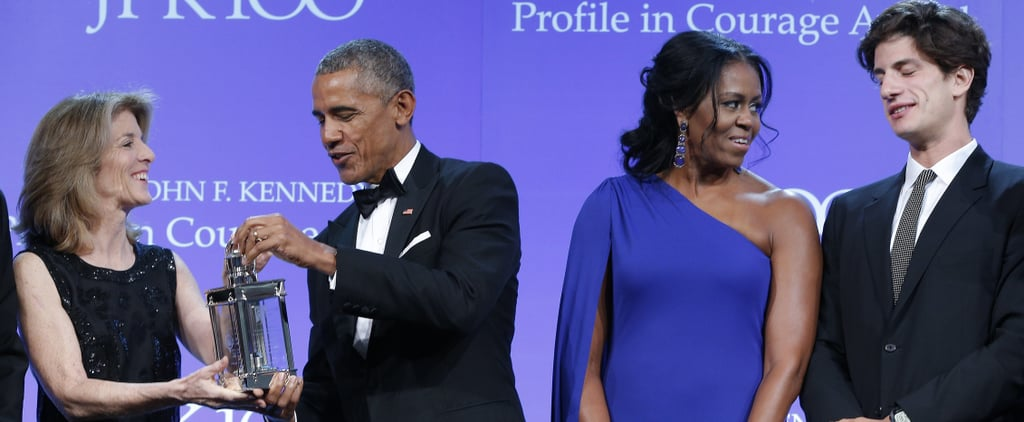 Look All You Want, There's No Doubt Michelle Obama's Earrings Are Absolute Treasures