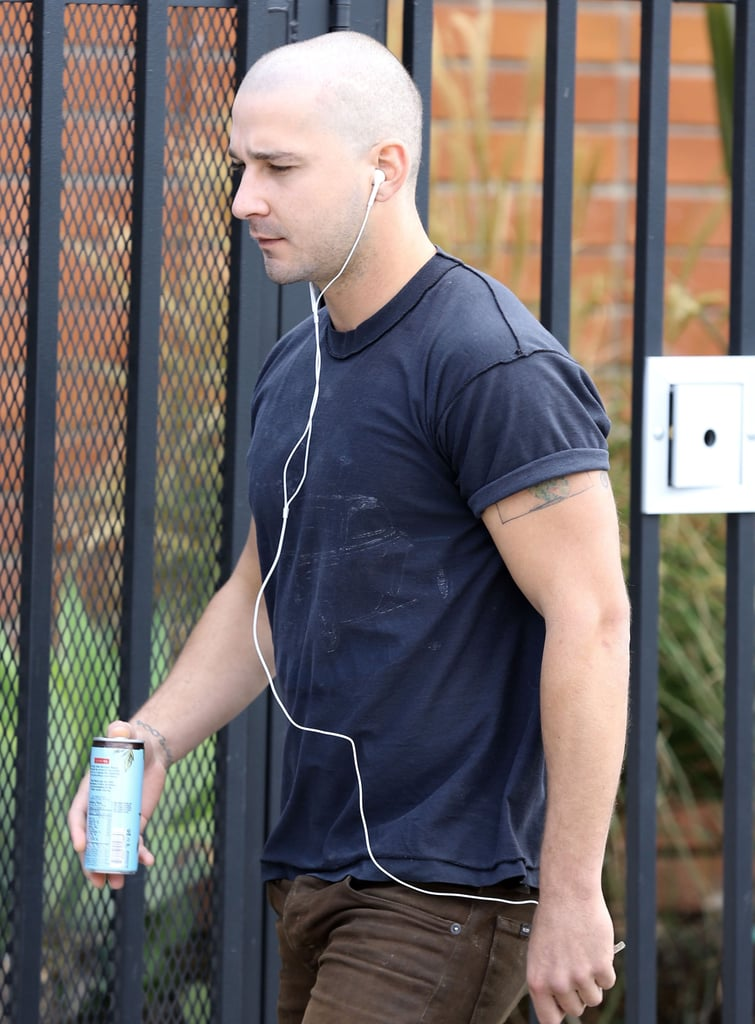 Shia LaBeouf Bald Pictures