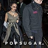 Robert Pattinson and FKA Twigs Out in London February 2017