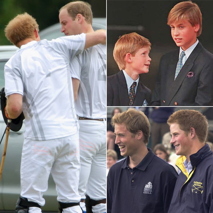 Prince William and Prince Harry Over the Years