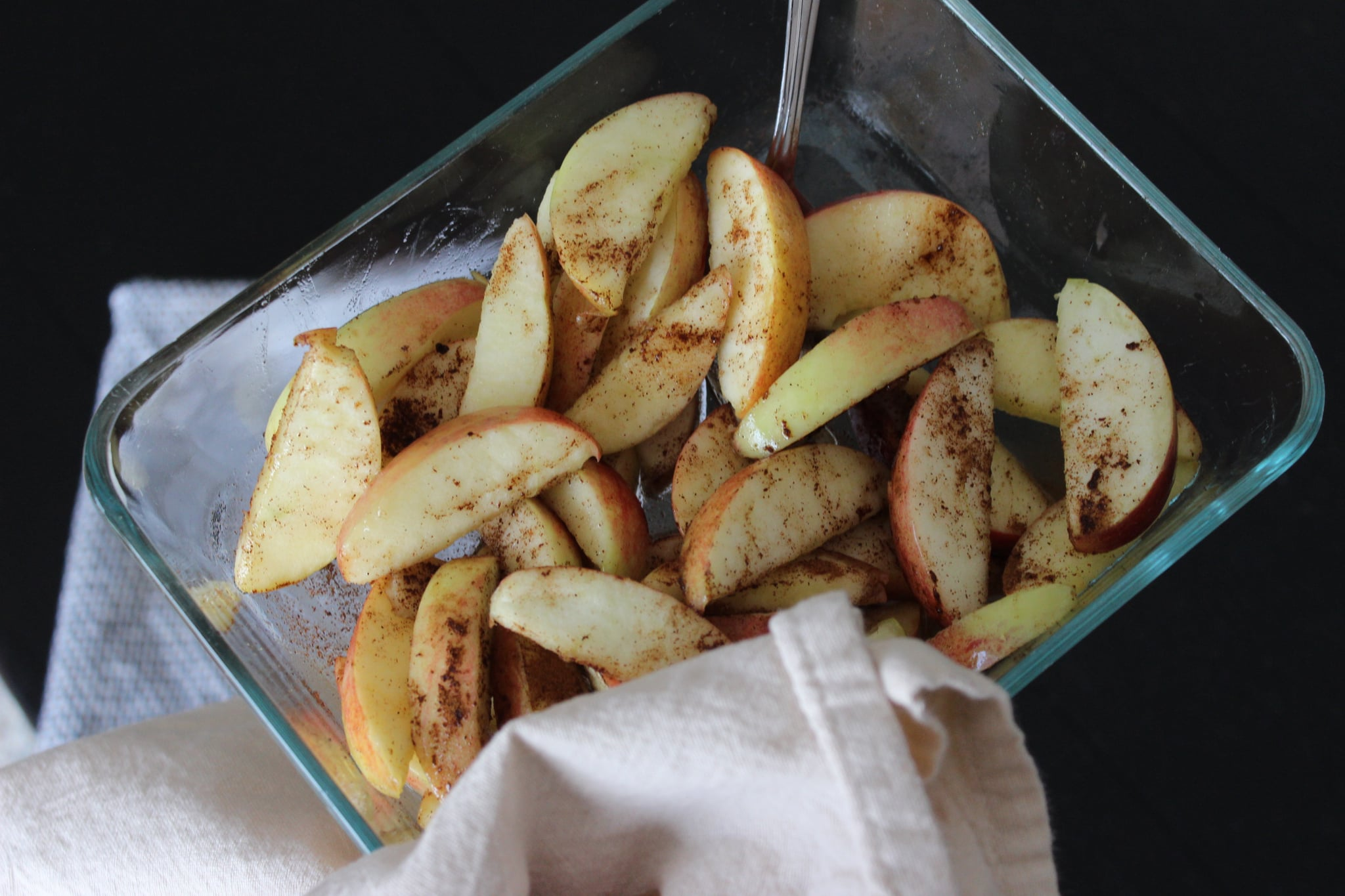Healthy Cinnamon Baked Apple Recipe Popsugar Fitness