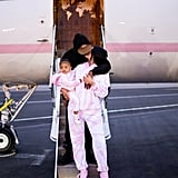 Kylie, Travis Scott, and Stormi Before Heading to Turks and Caicos
