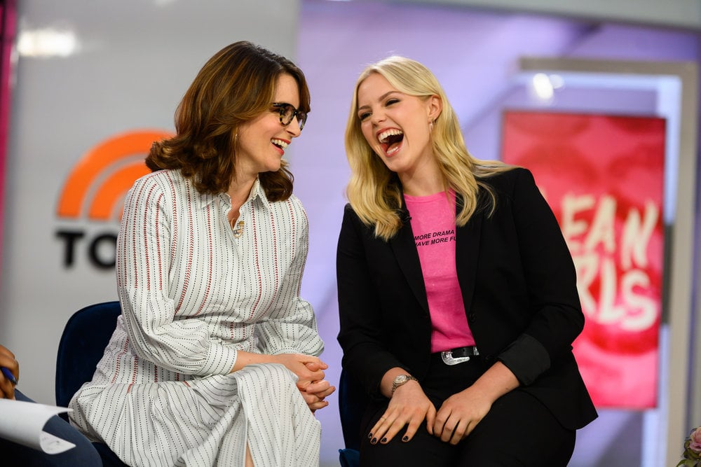 TODAY -- Pictured: Tina Fey and Renee Rapp on Tuesday, May 28, 2019 -- (Photo by: Nathan Congleton/NBC)