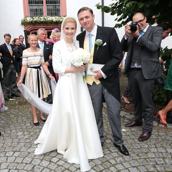 Franziska Balzer's Hochzeitskleid