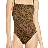 Madewell Second Wave Jungle Cat One-Piece Swimsuit