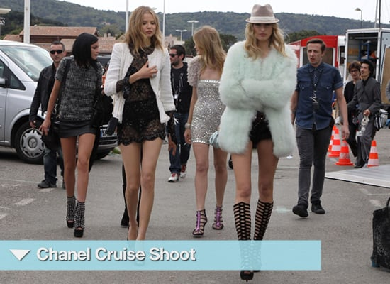 Chanel Cruise Shoot 2010 Starring Karolin Kourkova and Leigh Lezark