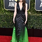 Marin Hinkle at the 2019 Golden Globes