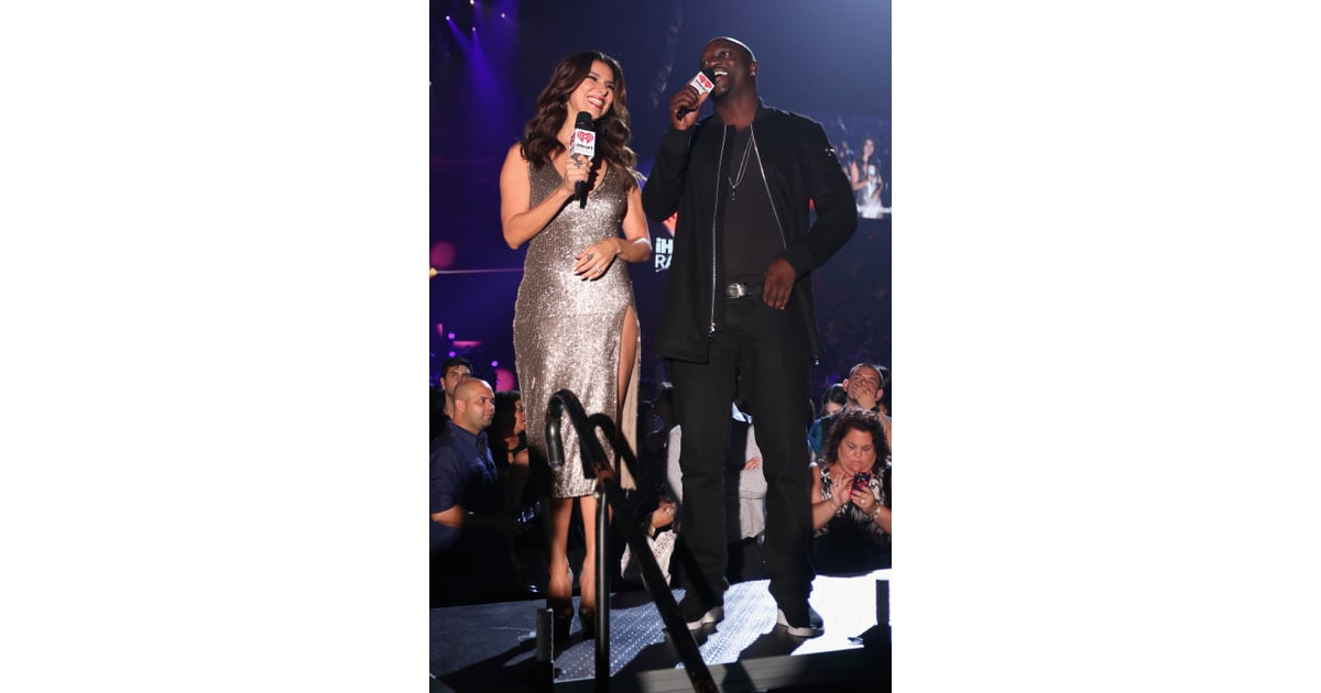 Roselyn Sanchez and Akon | Stars at the 2015 iHeartRadio