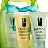 Clinique Sparkle & Glow for Very Dry to Dry Combination Skin ($10)