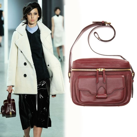 Shop The Look: Derek Lam Burgundy Camera Bag From Fall 2012 Runway