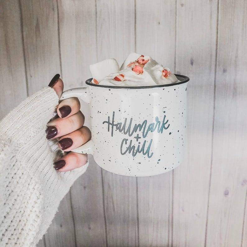Hallmark and Chill Mug