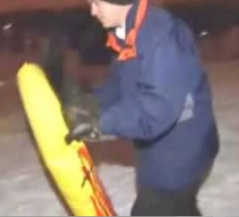 News Reporter Face Plants on Camera While Sledding