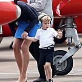 Prince George Helicopter Ride Pictures July 2016