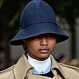 A Hat on the Michael Kors Collection Runway During New York Fashion Week