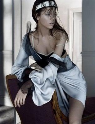 Freja Beha does Vogue UK-may 06