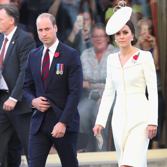 Kate Middleton Wearing Alexander McQueen Coat Dress