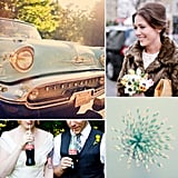 Weddings Through the Decades: Retro '50s Inspiration It was all about the flawless, quintessential white wedding throughout the '50s: extravagant ceremonies, pristine formal attire, and happy, upbeat music. Crooners like Frank Sinatra stole the scene early on, while Elvis Presley and rock and roll took over the radio spots later in the decade. Onscreen, Hollywood icon Marilyn Monroe made pin-up girls the ultimate male fantasy, while TV programs like I Love Lucy and Leave It to Beaver stuck to a cookie-cutter mold. Hoping to channel the jukebox era for your own wedding? From striped straws to retro color schemes, here are 35 creative ways to carry '50s charm into your big day.