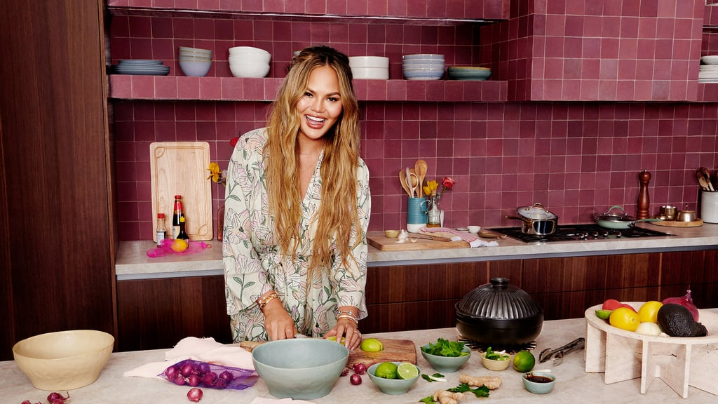 Chrissy Teigen Released a Chill Collection of Tie-Dye Robes