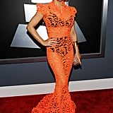 Fergie rocked Gaultier at the Grammys.