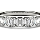 Ritani Nine-Stone Emerald Cut Diamond Wedding Ring