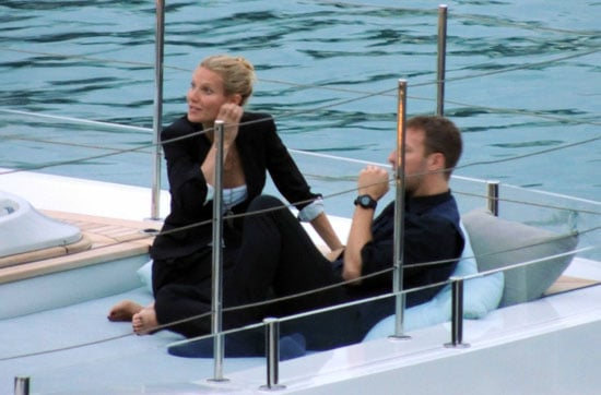 Gwyneth Paltrow And Chris Martin Logged Time On A Yacht In