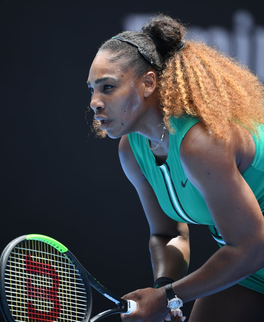 7ceb0dbae85c Serena Williams's Green Bodysuit at the Australian Open 2019 | POPSUGAR  Fashion Australia