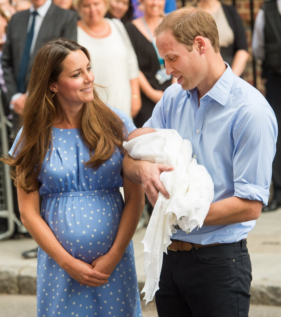 In July, Kate Middleton and Prince William introduced Prince George to the world outside their hospital in London.