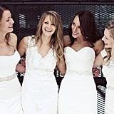 Best Friend Wedding Dress Photo Shoot