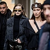 Gigi and Bella Showed Off Some Street Style in Between Shows