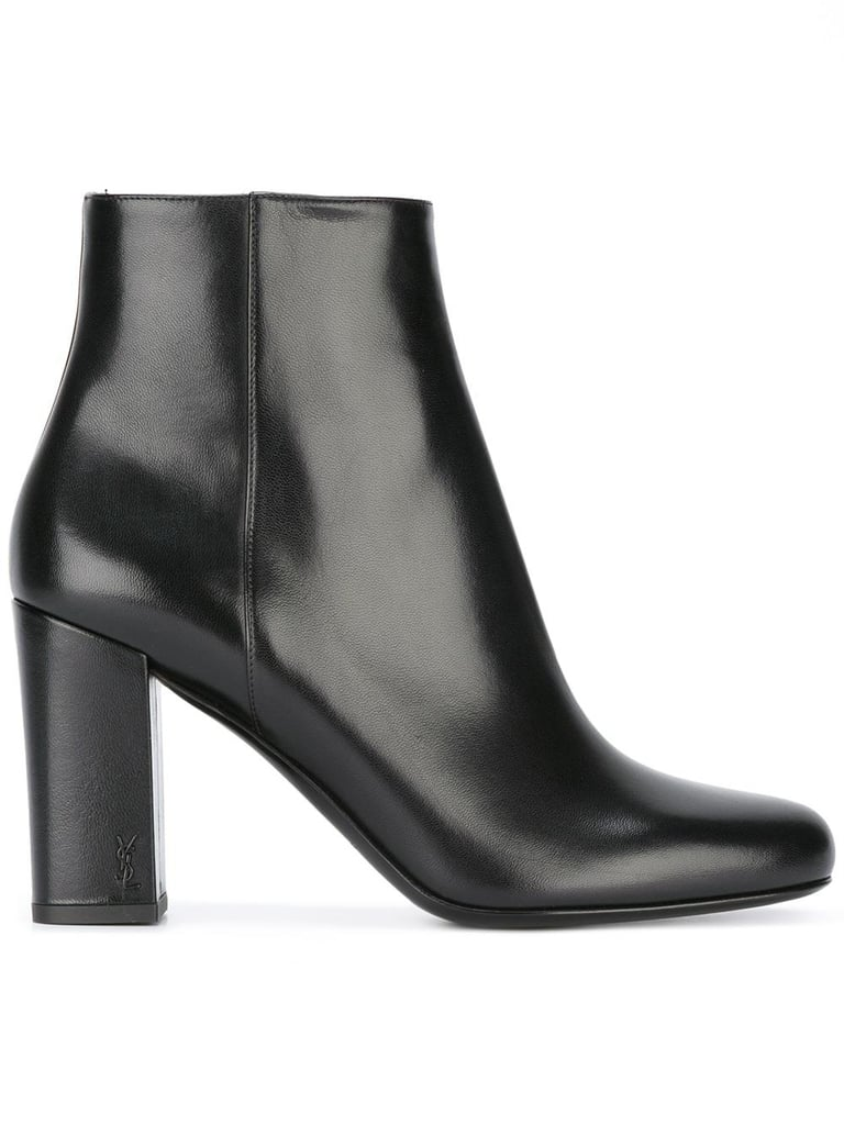 Saint Laurent Babies 90 Ankle Boots, $1,065