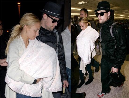 Nicole Richie, Harlow Madden, and Joel Madden Head to NYC