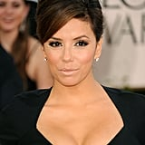 Eva Longoria Is Simply Stunning in Zac Posen on Globes Red Carpet