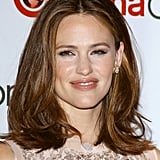 Jennifer Garner gave a smile at the CinemaCon event in Las Vegas.