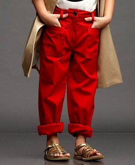 High Waisted Cropped Cargo Pant ($110)