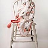 Spearmint Love Watercolor Rose Quilt