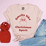 Smells Like Christmas Spirit Adult Tee