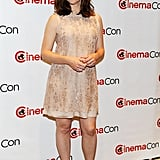 Jennifer Garner was glowing at the CinemaCon in Las Vegas.