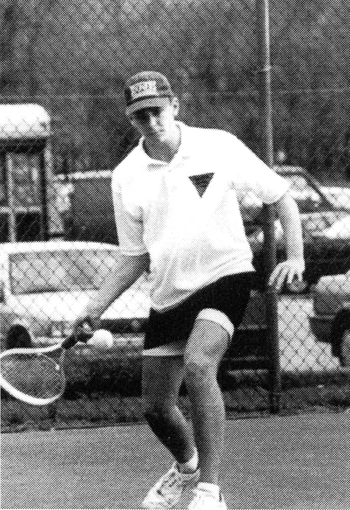 Bradley Cooper played tennis.