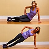 Circuit Two: Side Plank Push-Up