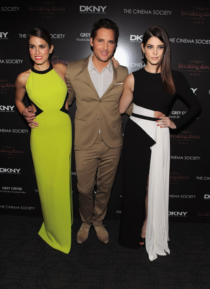 Peter Facinelli joined Nikki Reed and Ashley Greene in NYC for a special screening of Breaking Dawn.