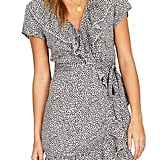Amuse Society Cali Nights Wrap Dress