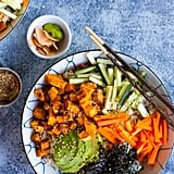 Vegetarian Sweet Potato Sushi Bowls
