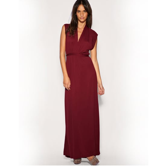 """>> Add drama to slinky merlot with a bit of leopard print. French Connection Empire Line Maxi Dress , $52 Looks chic with: <iframe src=""""http://widget.shopstyle.com/widget?pid=uid5121-1693761-41&look=3354626&width=3&height=3&layouttype=0&border=0&footer=0"""" frameborder=""""0"""" height=""""244"""" scrolling=""""no"""" width=""""286""""></iframe>"""