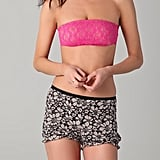 Wear this lacy bandeau bra under a loose-fitting, low-cut tank.  Only Hearts Bandeau ($36)