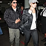 Ryan and Abbie at LAX